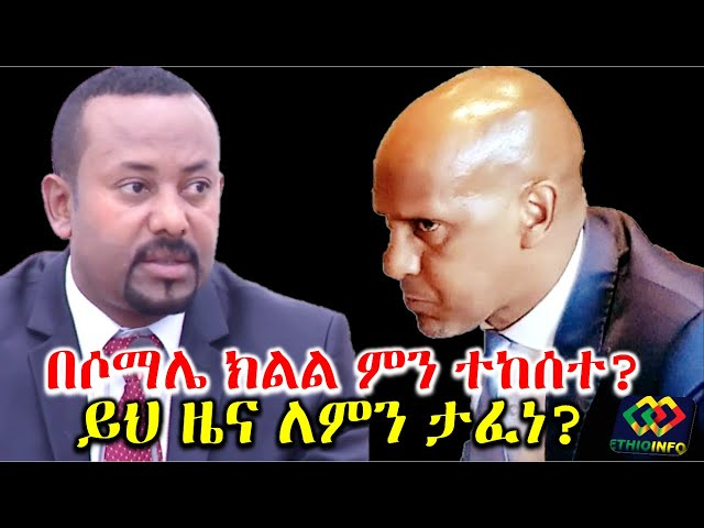 Ethiopia Insider disagreement between somali region member of parliament