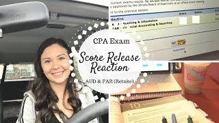 DID I PASS??? | AUD & FAR (Retake) Score Release Reaction | CPA Exam |