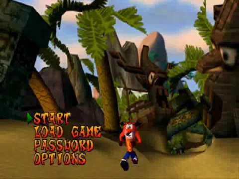 Crash Bandicoot (1996) gameplay
