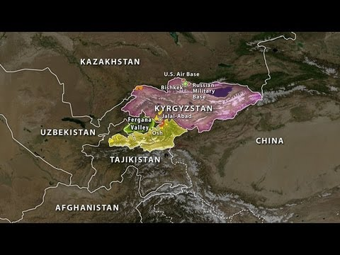 Kyrgyzstan's Geographic Challenge