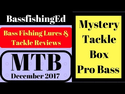 Mystery Tackle Box Pro December 2017