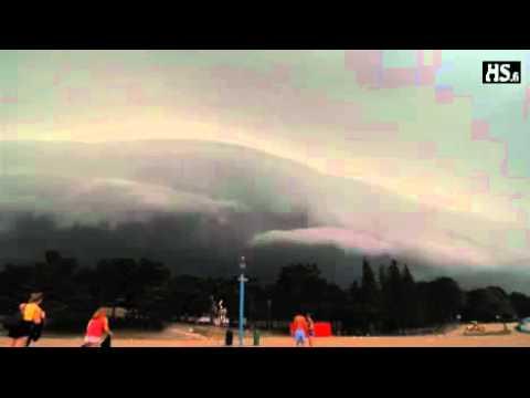 La tormenta mas diabólica jamás vista (Finlandia)