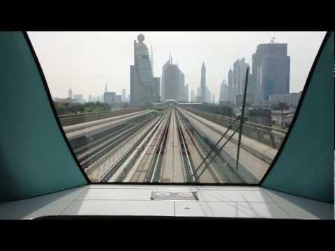 Dubai Metro Station announcement 2012