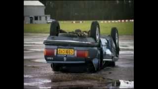Saab strength  vs BMW - TopGear