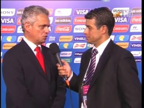 TVC Deportes - Entrevista a Reynaldo Rueda después del sorteo de mundial