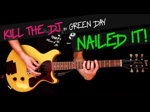 Kill The Dj live - Green Day guitar cover by GV Jasons part chords