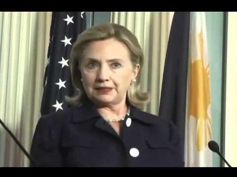 Clinton on Spratlys