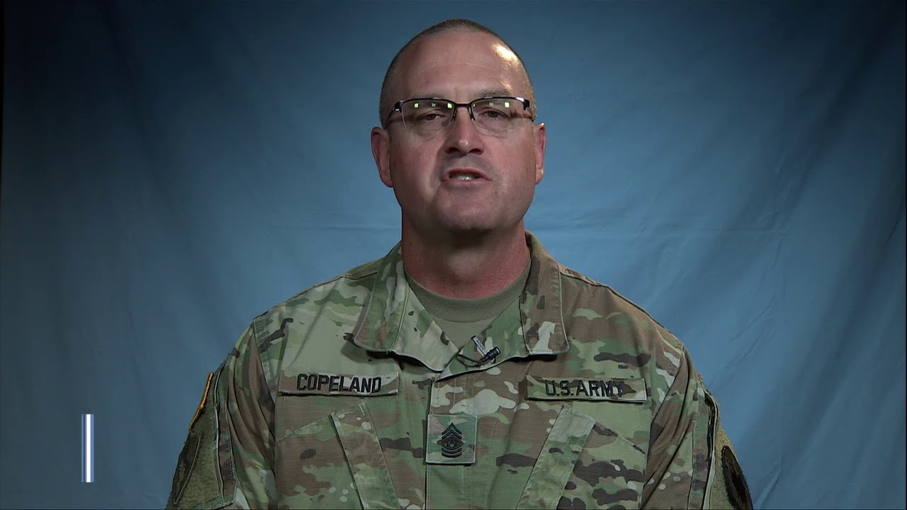U.S. Army Reserve Command Sergeant Major Ted Copeland informs soldiers of the approaching deadline to apply for the Blended Retirement System (BRS). Anyone not opted in by the deadline will by automatically locked into the legacy retirement system. December 31st, 2018 is the deadline.