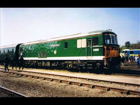 This fantastic event held in May 1994 saw numerous locomotives put on show at Exeter Riverside Yard, ranging from preserved steam locos through to what was at the time cutting edge freight...