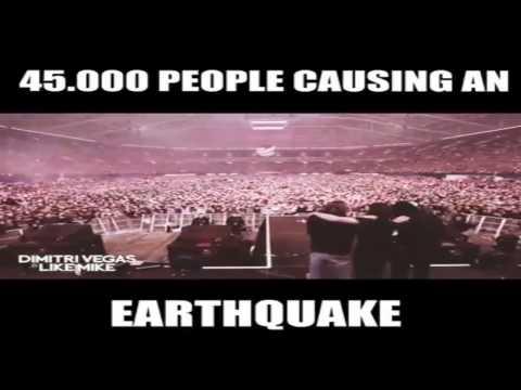 Dimitri Vegas & Like Mike-45.000 people causin an earthquake  45.000 personas causan un terremoto