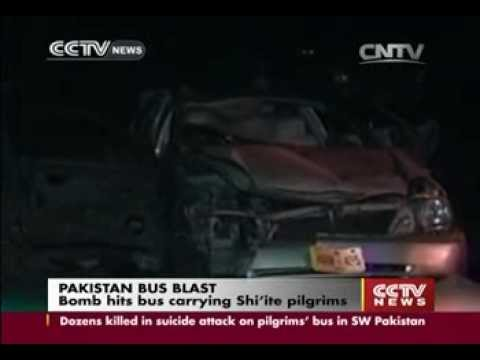 28 Hazara Shi'ite killed in Pakistan bus bombing by Punjabi Lashkar-e-Jhangvi in Baluchistan