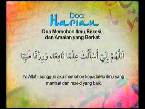 Doa Harian - Doa Memohon Ilmu, Rezeki, & Amalan Yg Berkat @ Kasih Ramadan 2010 Tv3!