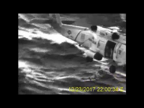 Raw: Man Rescued From Cargo Ship Off Alaska
