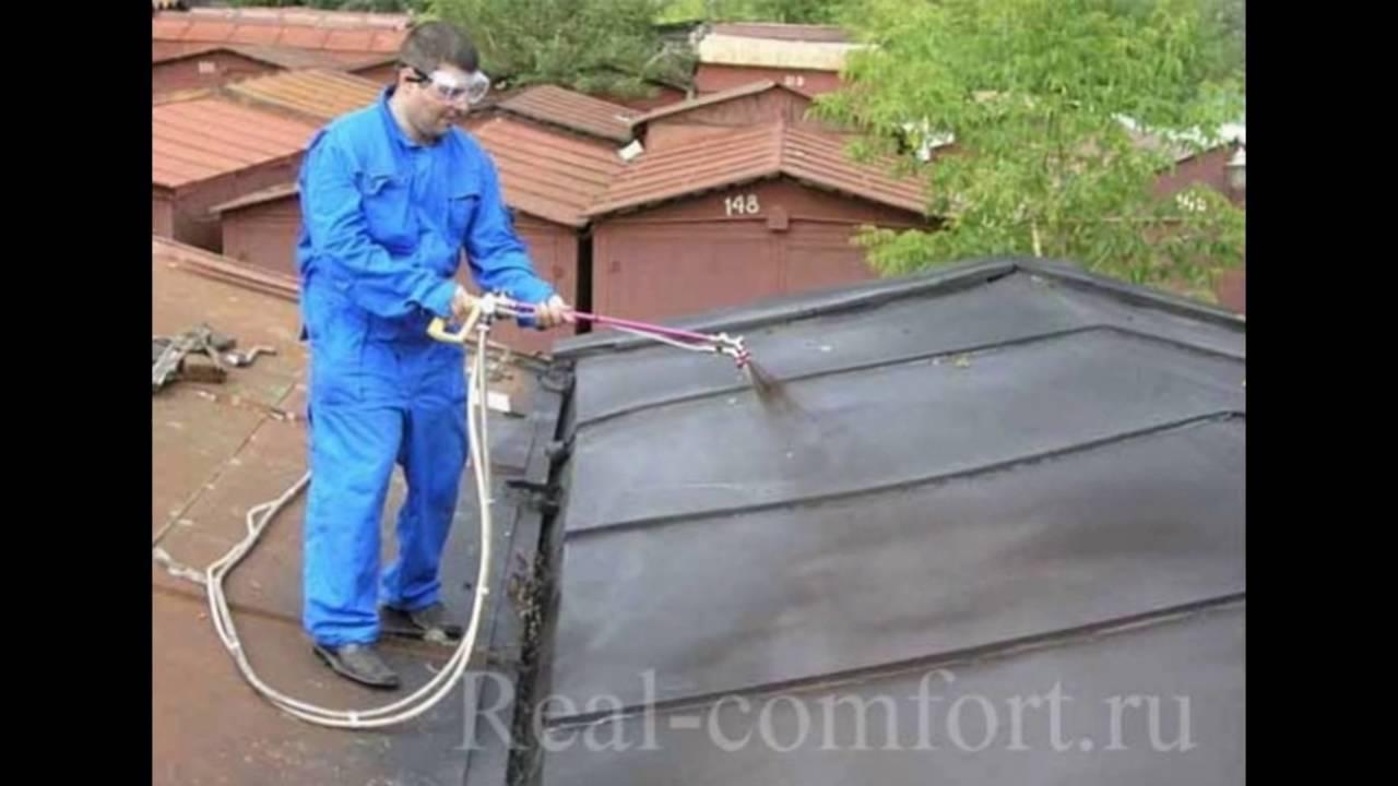 Как покрыть крышу бикростом своими руками