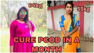 Diet plan for PCOD/PCOS For easy weightloss |weightloss episodic 2 |Punnagaipen