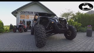 BRP Can-Am Maverick X3 XRS Turbo R 2017 154 KM MotoMaster Promo
