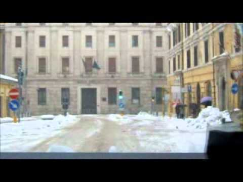 Ancona neve in centro 04/02/2012