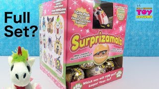 Surprizamals Holiday Christmas Edition Series 4 Blind Bag Toy Review Opening | PSToyReviews