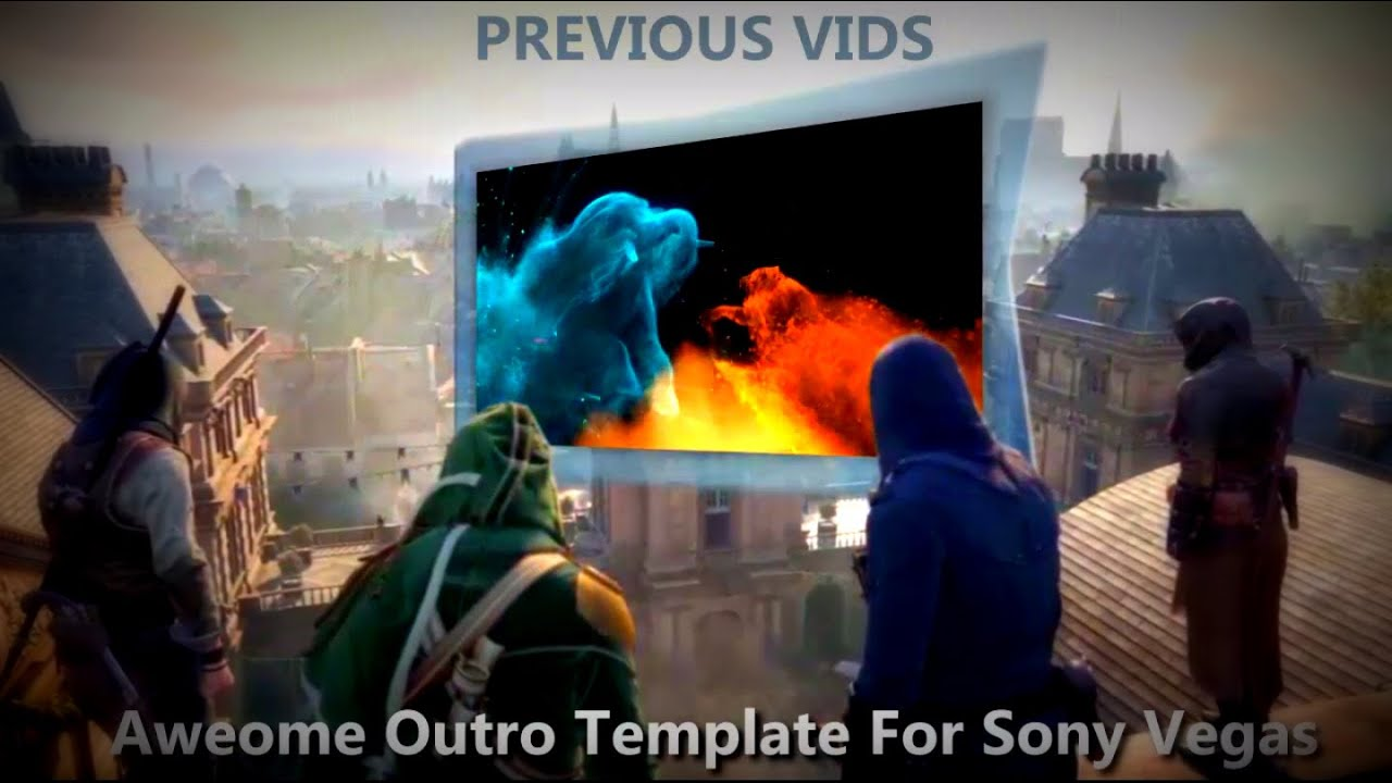 Game Template Unity Gaming Outro Template For