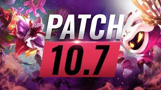 Best Champions TIER List – League of Legends Patch 10.7