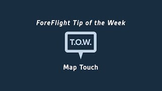 Tip of the Week: Map Touch Action