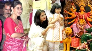 All Bollywood Celebs Durga Pooja 2016 Full Video HD - Kajol,Aishwarya Rai,Amitabh,Alia Bhatt