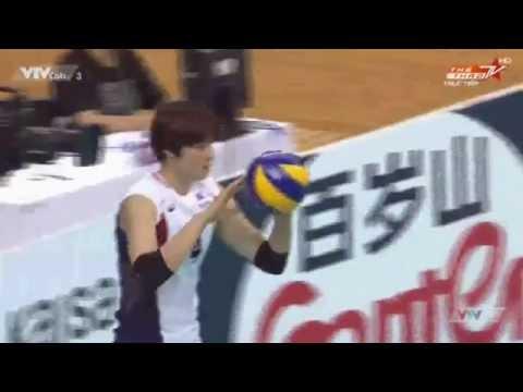 4TH AVC CUP FOR WOMEN[Semi-Finals]:Kazakhstan Vs South Korea-1
