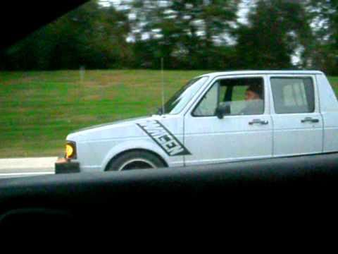 Vw Diesel Truck >> VW Rabbit Turned into Pickup.MOV - YouTube