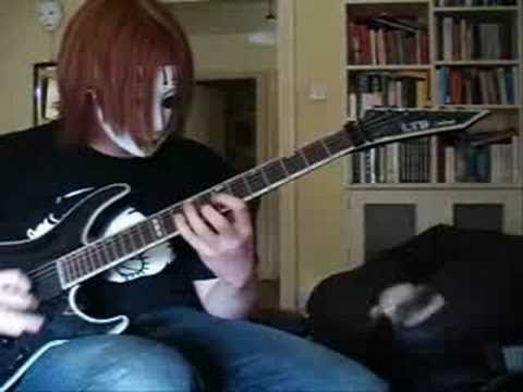 Slipknot - Psychosocial (cover, Tabs Now Available Read Desc) video