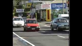 Police chase and crash  Mt Wellington  Auckland   NZ