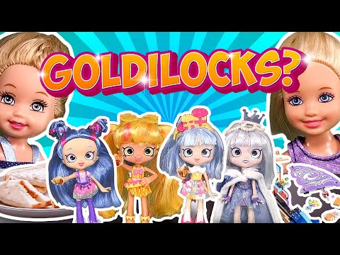 Barbie - Goldilocks (Shoppies) and the Three Little Girls | Ep.110