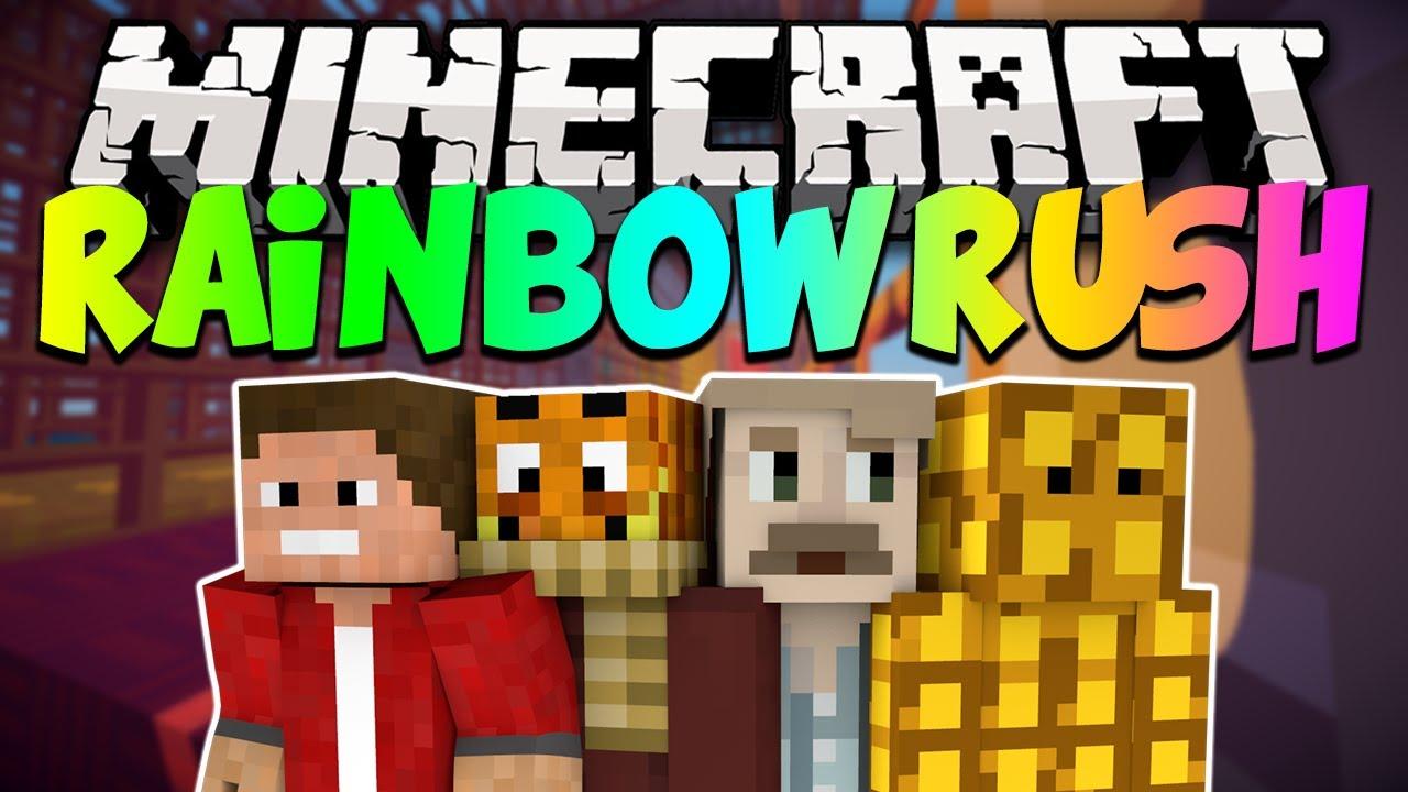 Minecraft Rainbow Rush