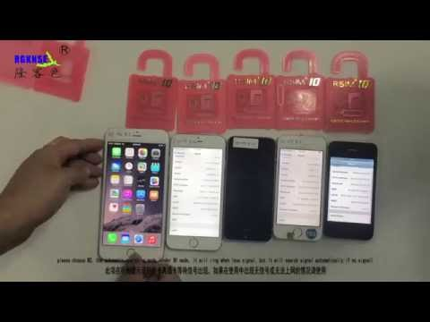 R-SIM10 for iPhone 6P.6.5S.5C.5.4S. Easy Unlocking and Activation