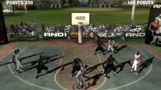AND 1 Streetball  HYPERSPIN SONY PS2 PLAYSTATION 2 NOT MINE VIDEOSUSA