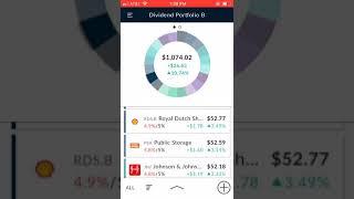M1 Finance Portfolio B - 1/20/2019