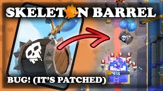 Mirror Mode with Skeleton Barrel Gameplay | Leak & Bug | Clash Royale