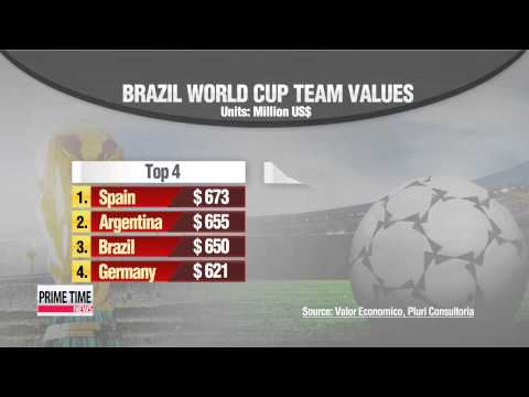 World Cup: Spain boasts most expensive squad; South Korea 27th