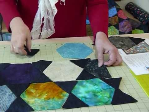 How To Make A Charming Hexagon Quilt By Machine Quilting