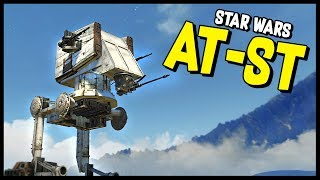Crossout - STAR WARS AT-ST In Crossout! - Crossout Gameplay