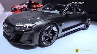 Audi e-Tron GT Concept - Walkaround - Debut at 2019 Geneva Motor Show