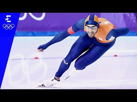 Speed Skating | Men's 1500m Highlights | Pyeongchang 2018 | Eurosport
