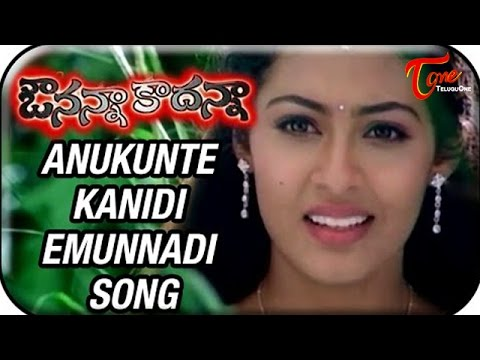Avunanna Kadanna - Telugu Songs - Anukunte Kanidi Emunnadi