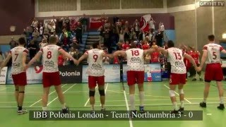 IBB Polonia London Volleyball  - Team Northumbria 3 - 0