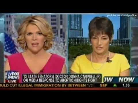Texas Rep. Donna Campbell Slams Wendy Davis' Pro-Abortion Bill On Fox News