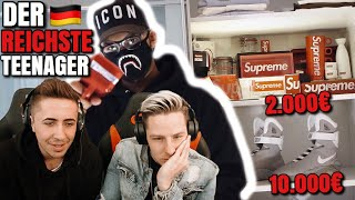 Der REICHSTE TEENAGER in Deutschland! Fashion REACTION! 💰😱