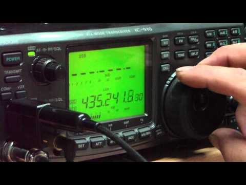 Amateur radio satellite pass VO-52