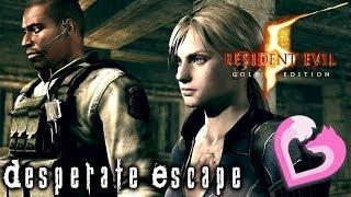 Resident Evil 5: Desperate Escape w/Foxtrot44   Explosions EVERYWHERE!