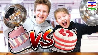SQUISHY FOOD vs. REAL FOOD Challenge🍫GIANT SQUISHY 🍰 TipTapTube 😁 Familienkanal 👨‍👩‍👦‍👦