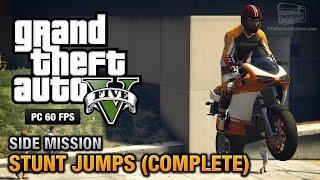 GTA 5 PC - Stunt Jumps [Show Off Achievement / Trophy]