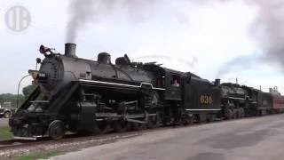 Trains For Children: Two Steam Engines